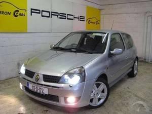 Renault Clio 172 SPORT 2L 16V ***SAT NAV + XENONS + ALLOYS***