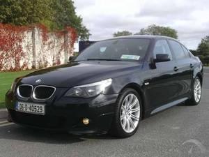 BMW 5 Series Series 520 D M SPORT 1 OWNER F.S.H (DIESEL)