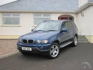 BMW X5 DIESEL ESTATE  200 4 - 2006)